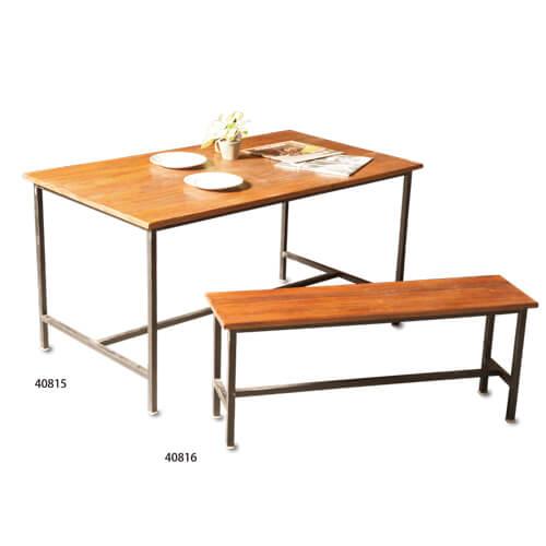40815 EWIG アイアンダイニングテーブル