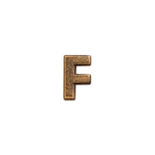 62859 アルファベットパーツ F
