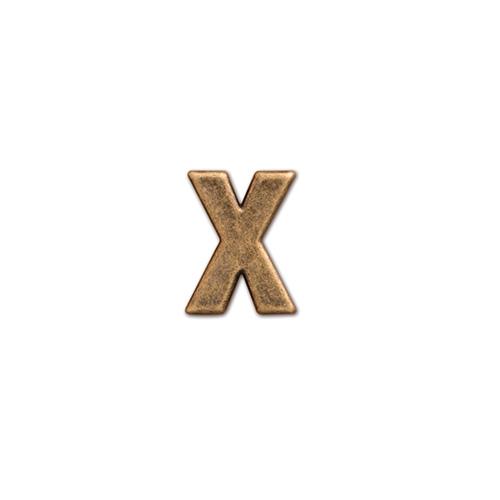 62877 アルファベットパーツ X