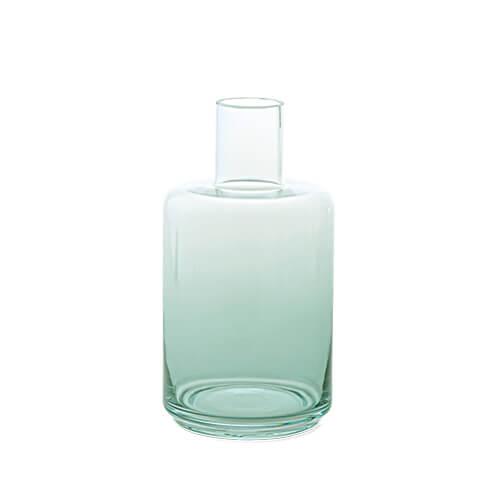 22565 ガラスボトル ブルー