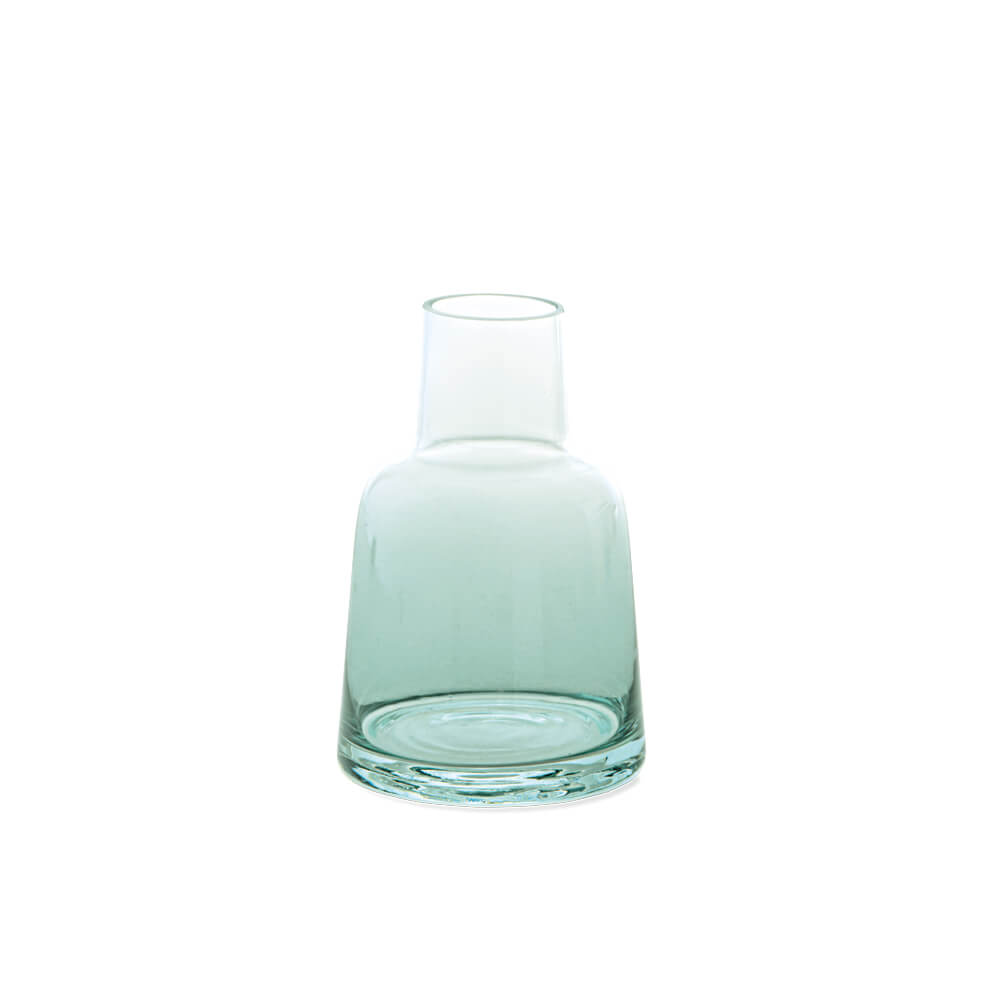 22573 ガラスボトル ブルー