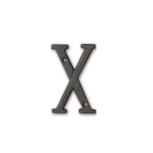 62396 アイアンアルファベット X