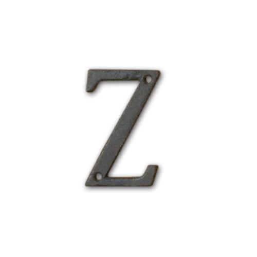 62398 アイアンアルファベット Z