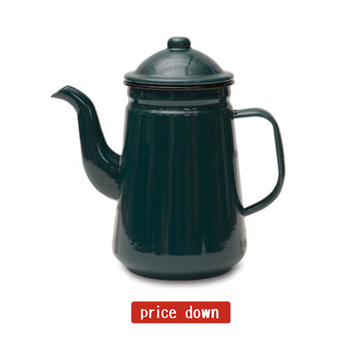 624GN コーヒーポット グリーン
