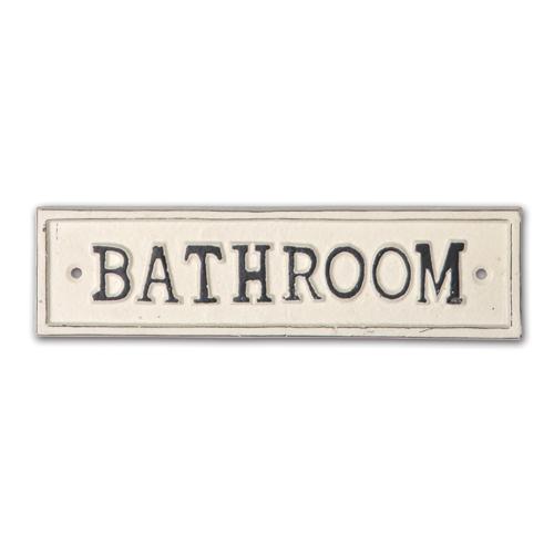 63043 サインプレート BATHROOM